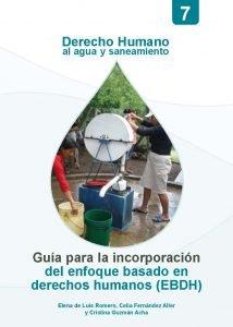 Guía para la incorporación del EBDH en agua y saneamiento